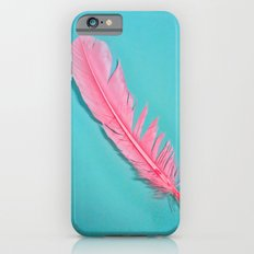 PINK FEATHER iPhone 6s Slim Case