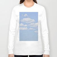 clouds Long Sleeve T-shirts featuring Clouds by Pure Nature Photos