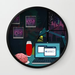 superfood Wall Clock