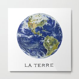 La Terre Metal Print