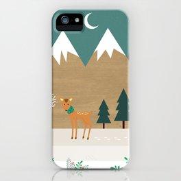 Hello winter iPhone Case