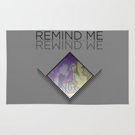 REMIND ME // REWIND WE Rug