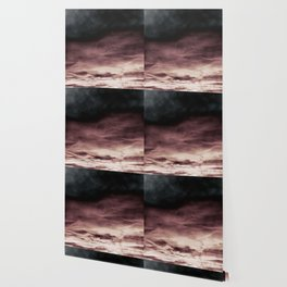 BLACK & PINK & GOLD TOUCHING #1 #abstract #decor #art #society6 Wallpaper