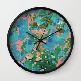 Marble texture 17 Wall Clock