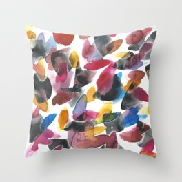 Mixed Emotions #1 Throw Pillow