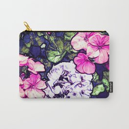 Pink Geraniums, Goddess Energy Carry-All Pouch
