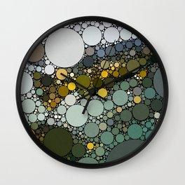 Trout Dots Wall Clock