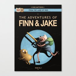 The Adventures of Finn & Jake Canvas Print