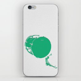 Minimalistic Drums iPhone Skin