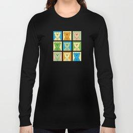 Grumpy Teds Pastel Block Long Sleeve T-shirt