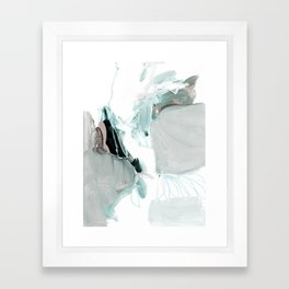 abstract painting XX Framed Art Print