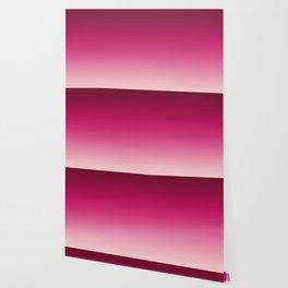 Millennial Pink Peacock Maroon Gradient Pattern Wallpaper