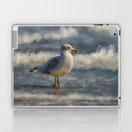 Seagull By The Seashore Laptop & iPad Skin