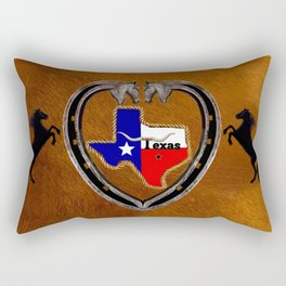 TEXAS PRIDE Rectangular Pillow