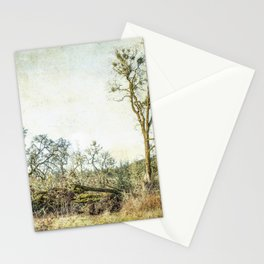 Losing a Part of Oneself Stationery Cards