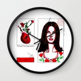 heroin Wall Clock