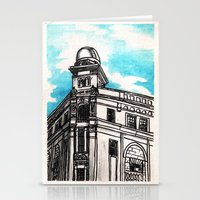 philippines Stationery Cards featuring Philippines : Regina Building by Ryan Sumo