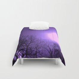 amethyst sky Comforters
