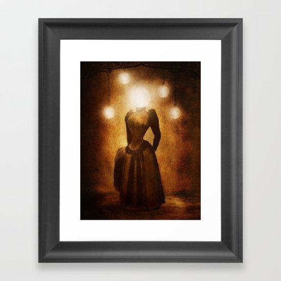Lady of the Light Framed Art Print