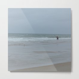 fisher and boy Metal Print