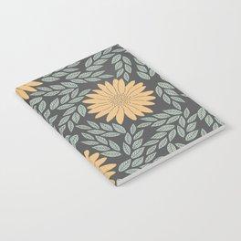 Autumn Flowers Notebook