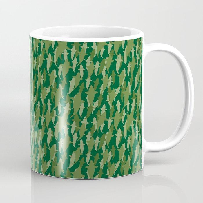 Camo Sharks Coffee Mug