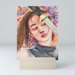 Mulan - Liu Yifei Portrait Mini Art Print