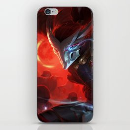 Blood Moon Yasuo League of Legends iPhone Skin