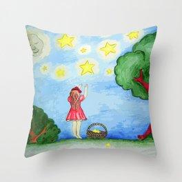Starstruck II Throw Pillow