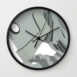 The Iron Giant Wall Clock