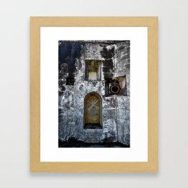 Dead man's Dungeon Framed Art Print