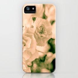 Romance and Ruffles beautiful flowers iPhone Case