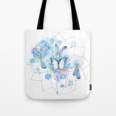 Dreamcatcher No. 1 - Butterfly Illustration Tote Bag