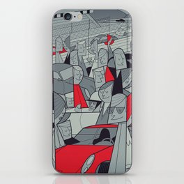Porsche Racing iPhone Skin