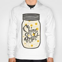 fireflies Hoodies featuring Fireflies by Landon Sheely