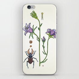 little spreading bellflower iPhone Skin