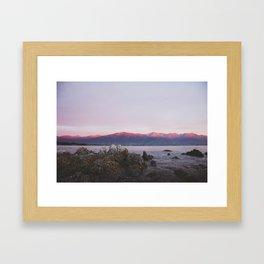 Kaikoura Sunrise Framed Art Print