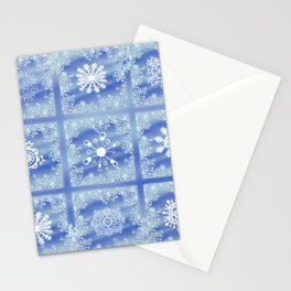 Frosted Panes Stationery Cards