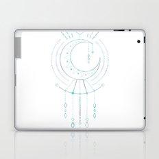 Mandala Crescent Moon Laptop & iPad Skin