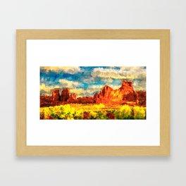 Arizona Spring Framed Art Print