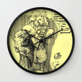 It's good to be king Wall Clock