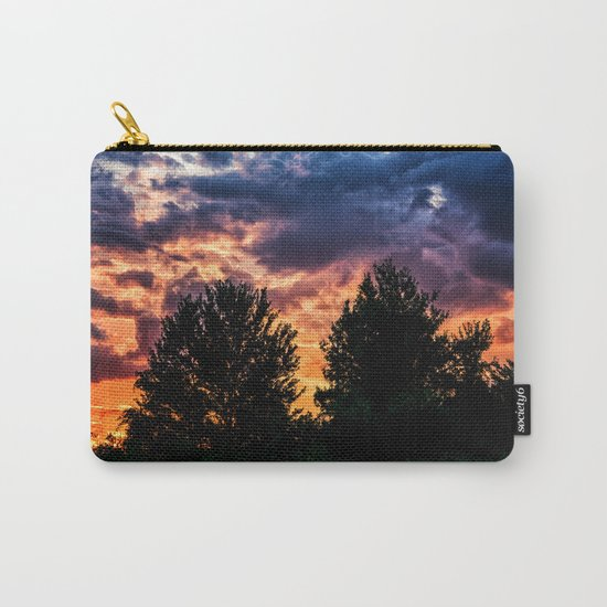 Dry Day Sunset Carry-All Pouch