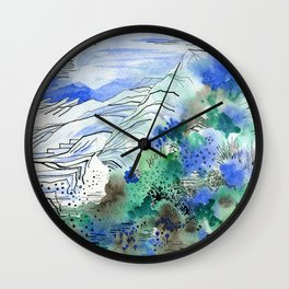 Menorca Wall Clock