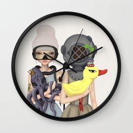 diver Wall Clock