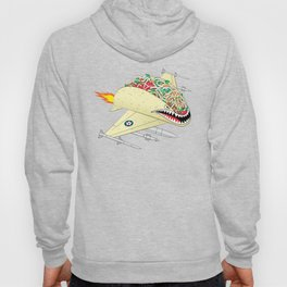 Taco Fighter Jet Hoody