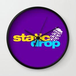 Static drop v3 HQvector Wall Clock