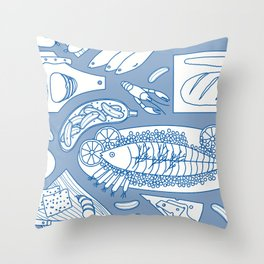Smorgasbord Throw Pillow