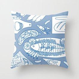 Smorgasbord Throw Pillow