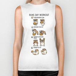 Buns Day Workout Biker Tank