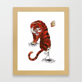 Tora Japanese Collection Framed Art Print